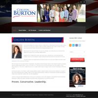 colleen burton website