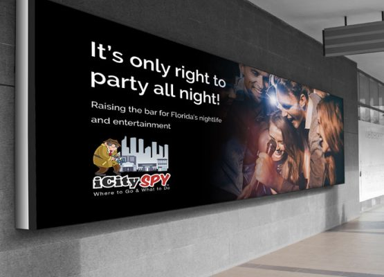 iCitySpy Horizontal Billboard