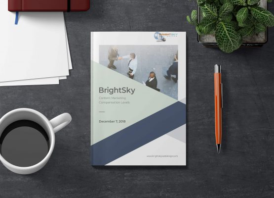 BrightSky Web Design – Brochure