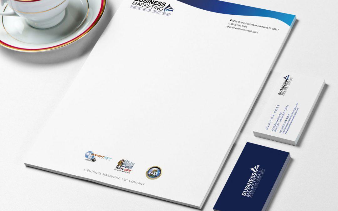 Business Marketing LLC – Letterhead