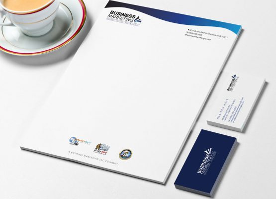 Business Marketing LLC – Letterhead