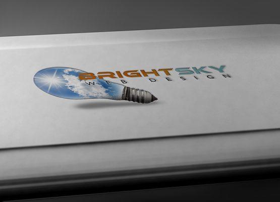 BrightSky Web Design – Logo