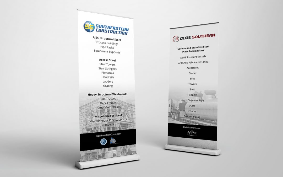 SouthEastern Construction – Banners