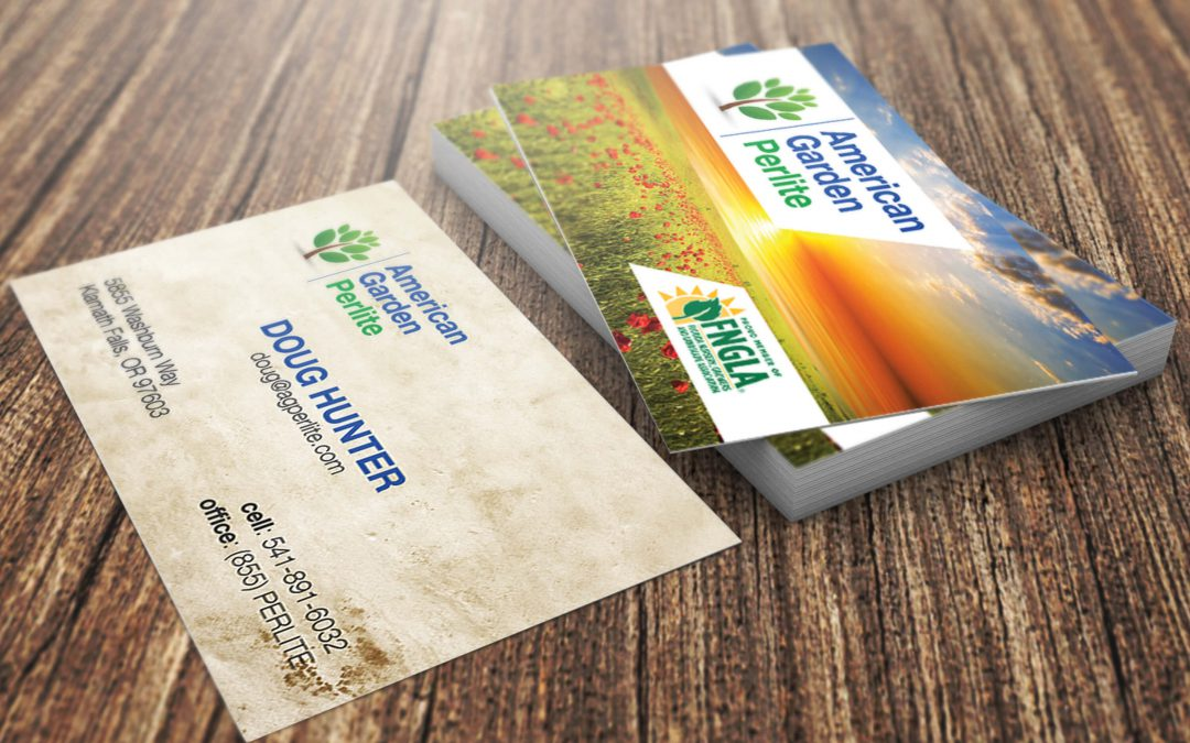 American Garden Perlite – Business Card