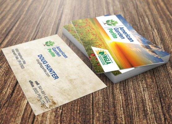 American Garden Perlite – Business Card